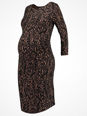 Anna Field MAMA Jerseyklänning fan/black