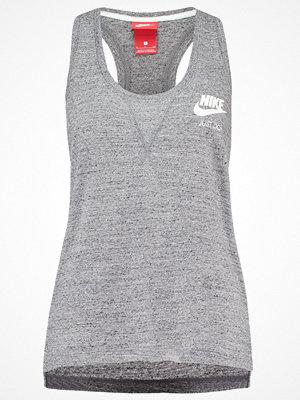 Nike Sportswear GYM VINTAGE Linne carbon heather/sail