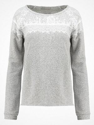 Cream LARISA Sweatshirt dark grey melange