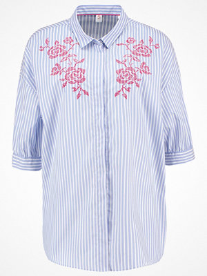 Seidensticker Skjorta blau/weiß/rot