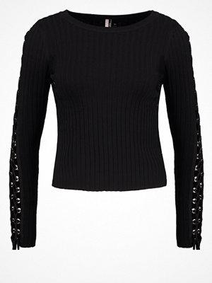 Topshop Stickad tröja black