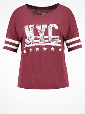 TWINTIP Tshirt med tryck dark red