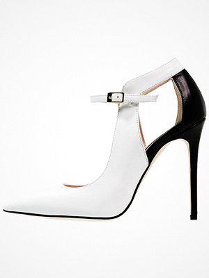 Alberto Zago Klassiska pumps bianco/nero