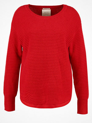 Part Two GENOVA Stickad tröja pompey red