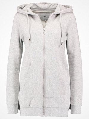 Street & luvtröjor - Only ONLCALM Sweatshirt light grey melange
