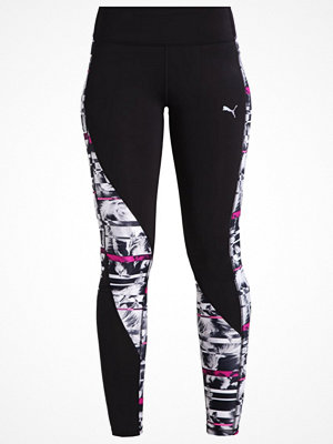 Puma CLASH Tights puma black/knockout pink