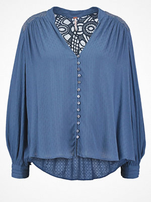 Free People CANYON ROSE Skjorta blue