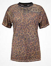 Topshop Tshirt med tryck brown