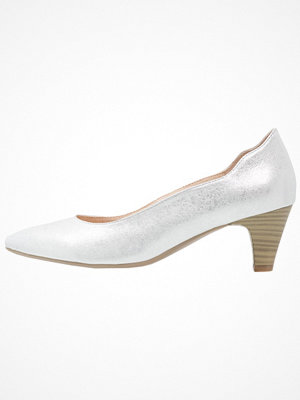 Caprice Pumps silver metallic