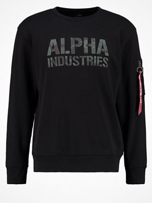 Tröjor & cardigans - Alpha Industries Sweatshirt black woodland