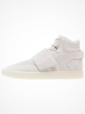 Sneakers & streetskor - Adidas Originals TUBULAR INVADER  Höga sneakers clear brown/chalk white