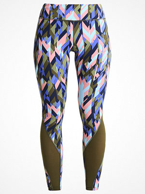 Nike Performance EPIC Tights legion green/sequoia/reflective silver