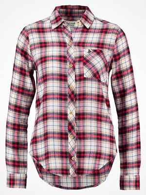 Abercrombie & Fitch XMAS Skjorta white/red