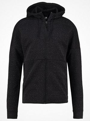 Adidas Performance STADIUM Sweatshirt black/black melange