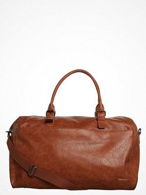 Väskor & bags - YourTurn Weekendbag cognac