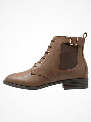Anna Field Ankelboots dark brown
