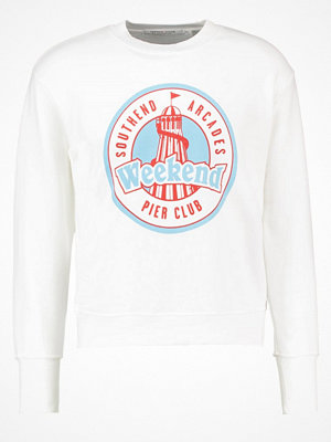 Topman Design DIRTY WEEKEND  Sweatshirt white
