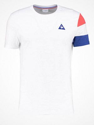 Le Coq Sportif Tshirt med tryck optical white