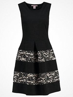 Anna Field Jerseyklänning black/nude