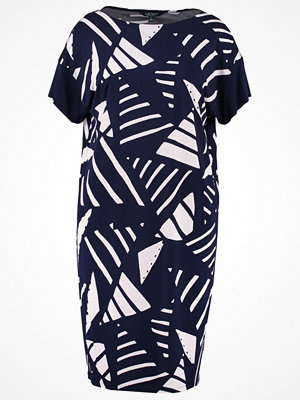 Lauren Ralph Lauren Woman VLADORA Jerseyklänning navy/antique ivory