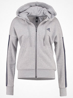 Street & luvtröjor - Adidas Performance Sweatshirt medium grey heather/collegiate navy
