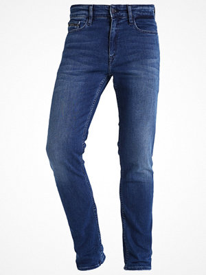 Calvin Klein Jeans SKINNY TRUE MID Jeans slim fit blue denim