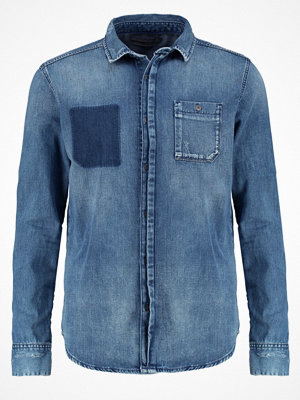 Skjortor - Calvin Klein Jeans SLIM FIT  Skjorta light blue denim