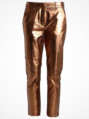 2nd One CARINE Chinos metallic bronze