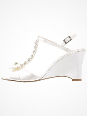 Sandaler & sandaletter - Paradox London Pink SAND Sandaletter med kilklack ivory
