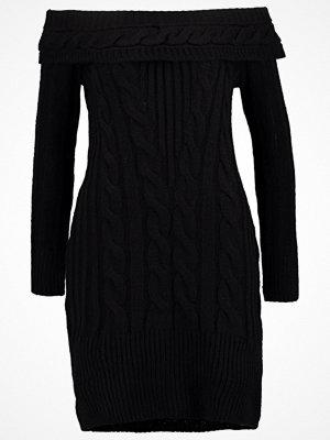 Miss Selfridge Stickad klänning black