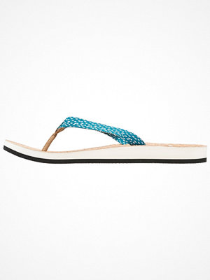 Tofflor - Adidas Performance EEZAY PARLEY  Flipflops non dyed/lab green/chalk white