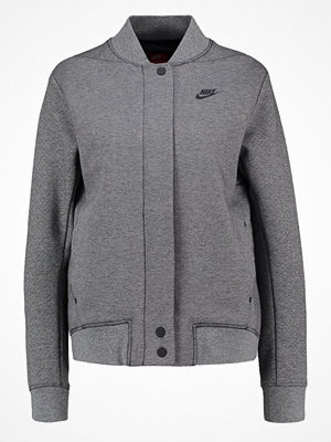 Nike Sportswear TECH FLEECE Bomberjacka carbon heather/black