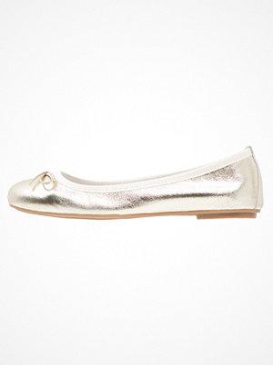 Tamaris Ballerinas light gold