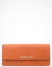 Plånböcker - MICHAEL Michael Kors JET SET TRAVEL  Plånbok orange