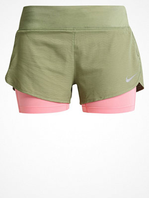 Sportkläder - Nike Performance RIVAL 2IN1 Träningsshorts palm green/bright melon/reflective silver