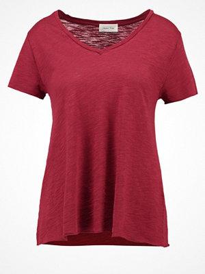 American Vintage Tshirt bas bordeux