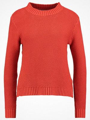 Even&Odd Stickad tröja orange