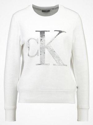 Calvin Klein Jeans HONOR Sweatshirt white