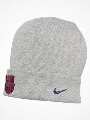 Mössor - Nike Performance FC BARCELONA Mössa dark grey heather/loyal blue