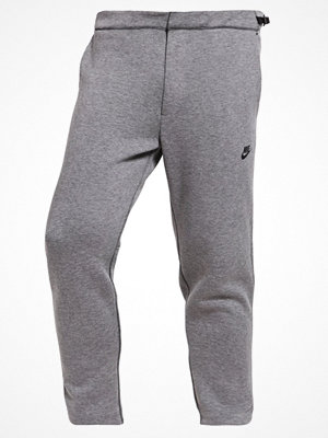 Nike Sportswear TECH FLEECE CROPPED Träningsbyxor carbon heather/black