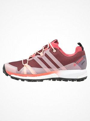 Adidas Performance TERREX AGRAVIC GTX  Löparskor terräng tactile pink/haze coral/white
