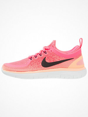 Sport & träningsskor - Nike Performance FREE RUN DISTANCE Löparskor racer pink/black/lava glow/hot punch/sunset glow