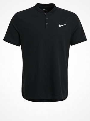Sportkläder - Nike Performance COURT ADVANTAGE Tshirt bas black/white