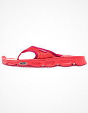 Salomon RX BREAK  Flipflops poppy red/living coral/sangria