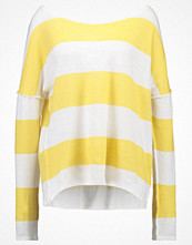 Juvia Stickad tröja gelb