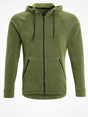 Nike Performance DRY HYPER  Sweatshirt green
