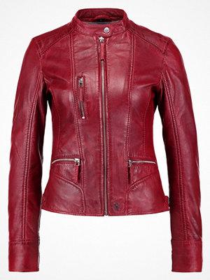 Oakwood Skinnjacka dark red