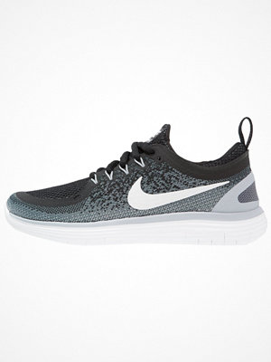 Sport & träningsskor - Nike Performance FREE RUN DISTANCE Löparskor black/white/cool grey/dark grey/wolf grey