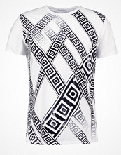 T-shirts - Versace Collection Tshirt med tryck bianco