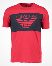 T-shirts - Armani Jeans Tshirt med tryck rosso